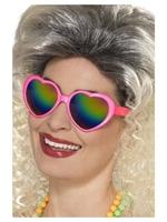 Okulary serca różowe serduszka