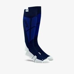 100 procent skarpety cross hi side socks navygrey