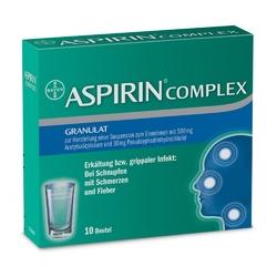 Aspirin complex na przeziębienie, granulat