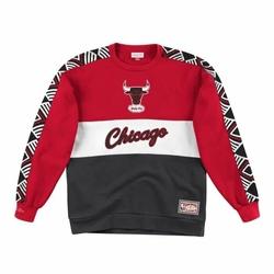Bluza Mitchell  Ness Leading Scorer Fleece Crew Chicago Bulls - FCNKDF18025-CBUSCAR - Chicago Bulls