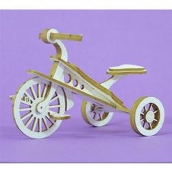 Ozdoba 3d - rowerek trzykołowy