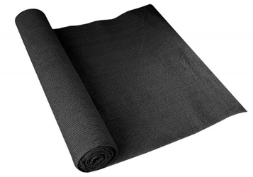 Siatka cieniująca osłonowa uv 90 1,5x50m czarna