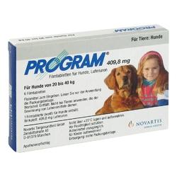 Program tabl.f.hunde 409,8mg 20-40kg