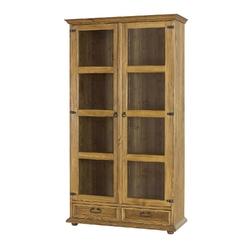 Witryna Cevilo 107 cm prowansalska drewniana