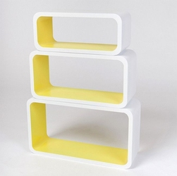 Zestaw półek cube 08