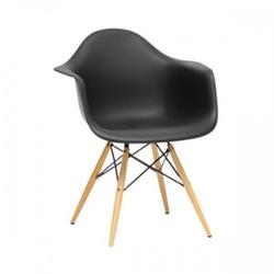 Nowoczesne krzesło design modern daw retro czarny
