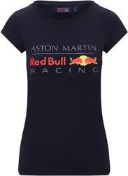 Koszulka damska red bull racing f1 granatowa - granatowy