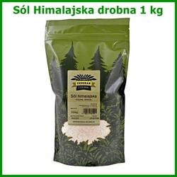 Sól himalajska - drobnoziarnista - 1 kg