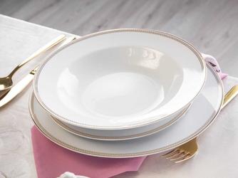 Zestaw obiadowy  serwis dla 6 osób porcelana mariapaula promise 18 elementów