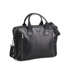 Męska stylowa torba na ramię brødrene b02 czarna