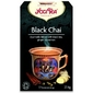 Herbata czarna black chai z imbirem i cynamonem bio 17 torebek  yogi tea