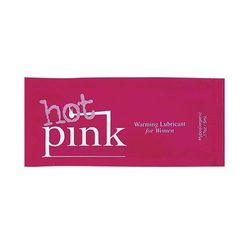 Olejek nawilżający pink hot pink warming lubricant 5 ml