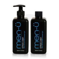 Men-u citrus  mint shower gel - żel pod prysznic 500 ml uzupełnienie