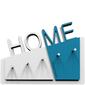 Wieszak na klucze Home CalleaDesign biały  niebieski 18-001-74