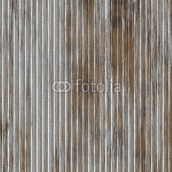 Obraz na płótnie canvas czteroczęściowy tetraptyk zardzewiały metal, hangar