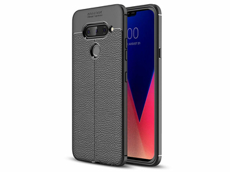Etui Alogy Leather Armor LG V40 ThinQ