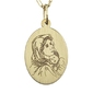 Medalik z żółtego złota wec-z-med-mb-2