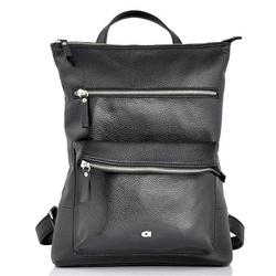 Skórzany plecak daag native 27 czarny