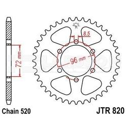 Zębatka tylna stalowa jt 820-42, 42z, rozmiar 520 2300294 suzuki sp 370