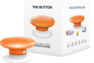 Fibaro the button   przycisk pomarańczowy  - szybka dostawa lub możliwość odbioru w 39 miastach