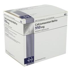Calciumacetat nefro 950 mg tabletki powlekane
