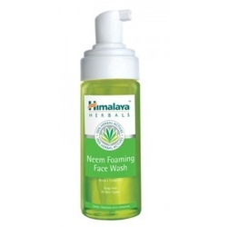 Pianka neem do mycia twarzy himalaya 150ml neem foaming face wash