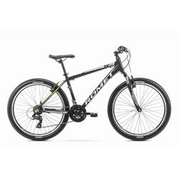 Rower górski romet rambler r6.0 26 2020, kolor czarny, rozmiar 14