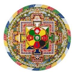 Obraz na płótnie canvas mandala tybetańska