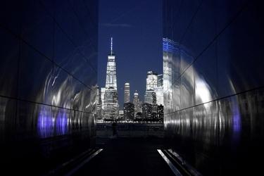 Fototapeta na ścianę nowoczesne miasto nocą fp 5453