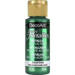 Farba Dazzling Metallics 59 ml -kryształowa zieleń - KRZZ