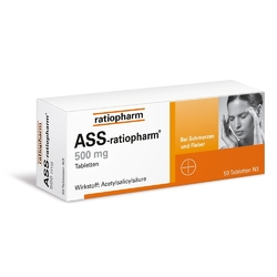 Ass ratiopharm 500 mg tabletki