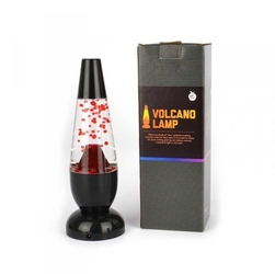 Lampka lawa - lampa lava volcano czerwona wulkan