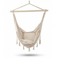 Brazylijski hamak krzesło z poduszkami