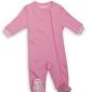 Pajacyk dla dziecka - różowy 0-3 m