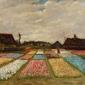 Flower beds in holland, vincent van gogh - plakat wymiar do wyboru: 29,7x21 cm