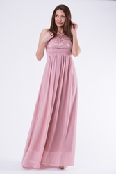 Eva  lola sukienka old pink58001-5