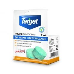 Tabletki biologiczne do szamba i oczyszczalni – 6 szt. target