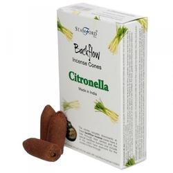 Citronella - kadzidełka stożkowe typu backflow op. 12 szt