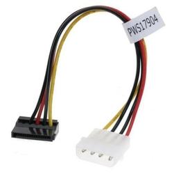 Kabel do dysku twardego napájecí, dc sata m- dc 5,25quot m, 0.2m, łamany, color