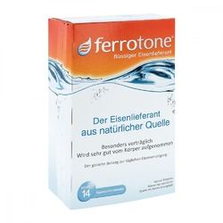 Ferrotone żelazo saszetki