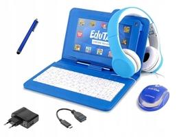 Tablet edukacyjny klawiatura + słuchawki + zestaw dla dzieci