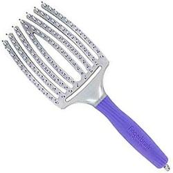Olivia garden finger brush large violet, szczotka z iglicą bez włosia