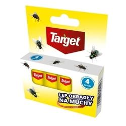 Lep na muchy – taśma – 4 szt. target