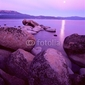 Obraz na płótnie canvas czteroczęściowy tetraptyk lake tahoe