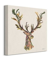 Forest stag - obraz na płótnie