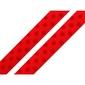 Wstążka satynowa w kropeczki 10mm1m - czerwony