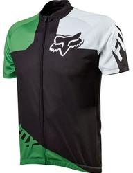 Koszulka rowerowa fox livewire race black-green