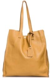 Ruda stylowa pojemna torebka na ramię