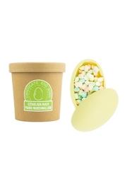 Czekoladowa bomba biała z piankami marshmallow - gorąca czekolada z kubkiem prezent na wielkanoc
