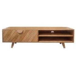 Table4u :: drewniana szafka rtv irena 150x40x45 - kolor karmel